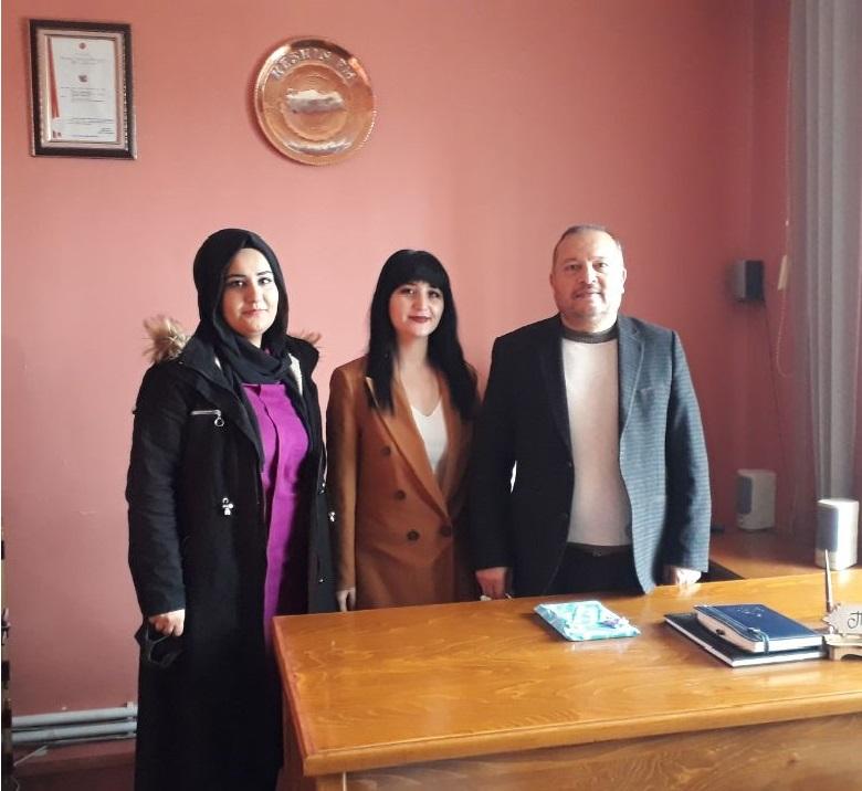 MHP Kadın Kolları  'Çalışan Gazeteciler Günü' ziyareti.